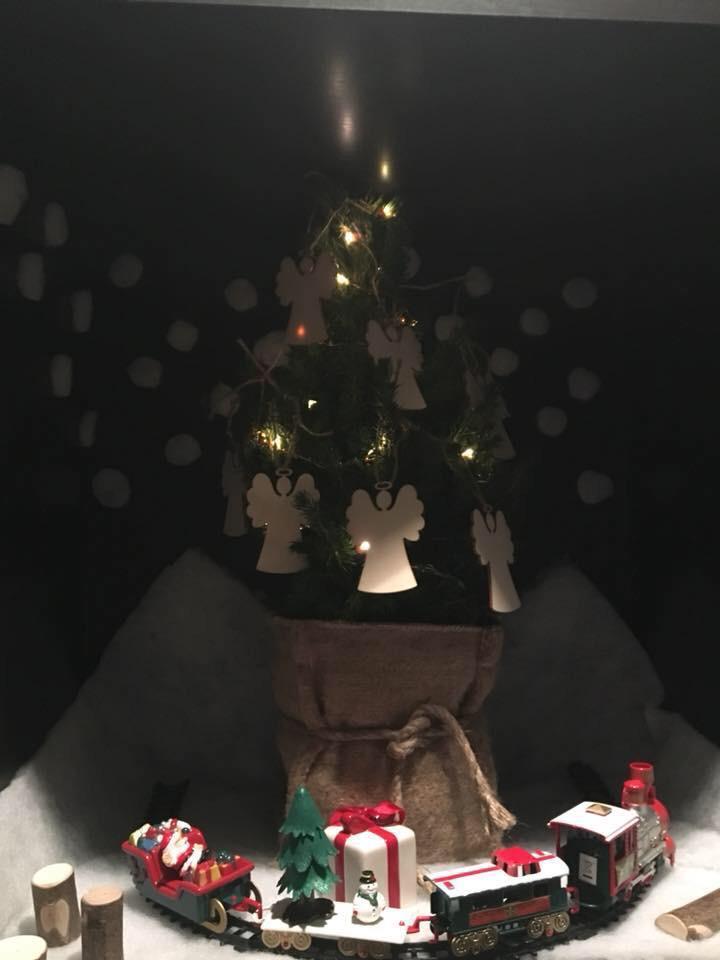 Thematafel met thema kerst